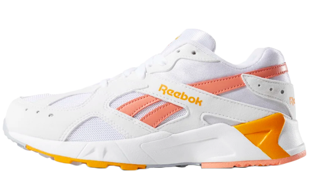 Reebok Aztrek White Orange | DV4276