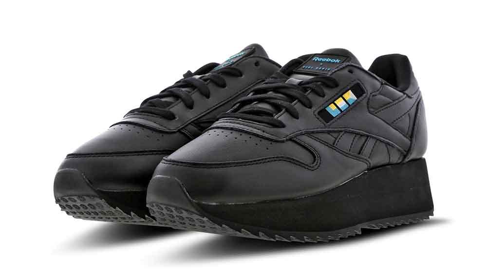 2f9abb83250a2 Reebok x Gigi Hadid Classic Leather Double Black