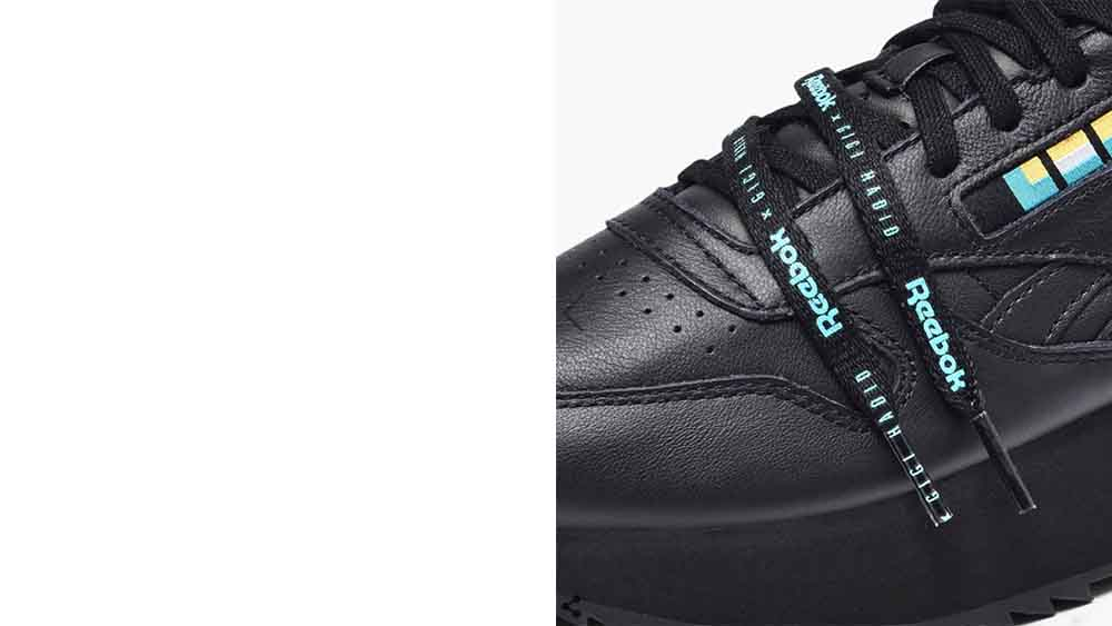 0c72baf416ad If you re loving the Reebok x Gigi Hadid Classic Leather Double in Black