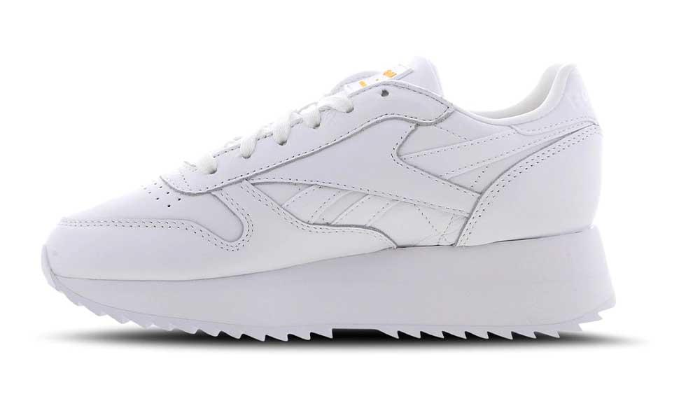 bb4b9858eddc2 Reebok x Gigi Hadid Classic Leather Double White
