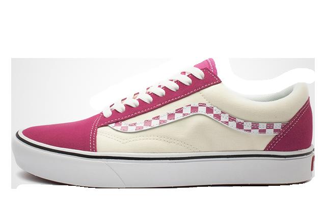 Vans ComfyCush Old Skool Pink Beige VN0A3WMAVNU