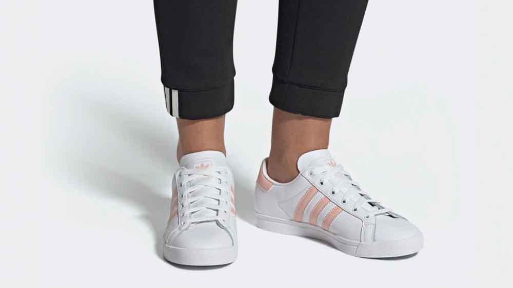buty na codzień renomowana strona kupuj bestsellery adidas Coast Star White Pink   EE8910