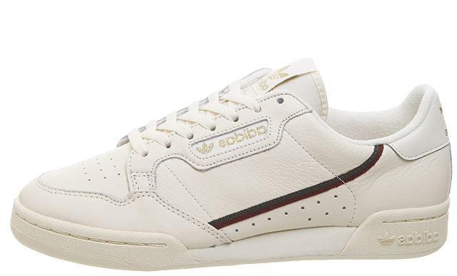 adidas Continental 80 White Met Gold