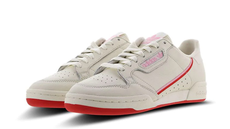 adidas Continental 80 White Pink 03