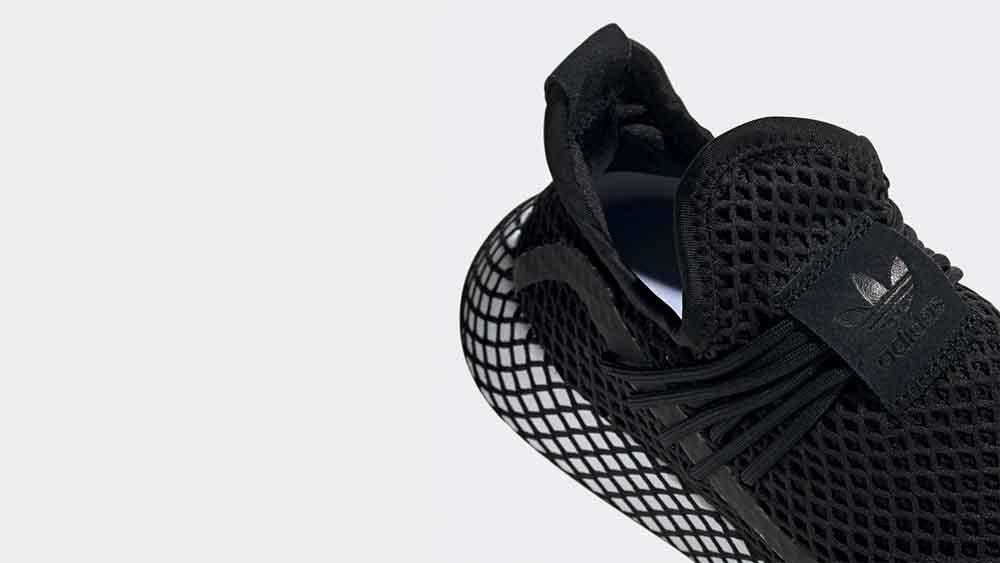 adidas Deerupt Black   BD7879