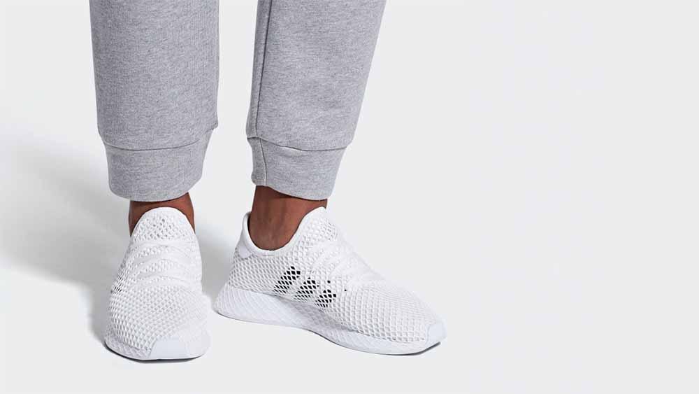 adidas Deerupt Runner White   DA8871