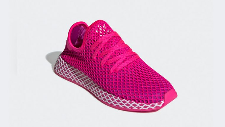 adidas Deerupt Shock Pink CG6090 03 thumbnail image