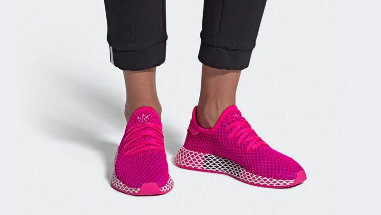 adidas Deerupt Shock Pink CG6090 04 thumbnail image
