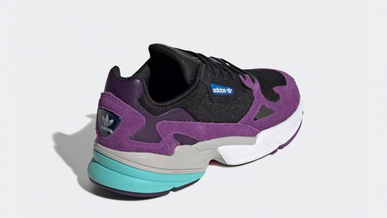 adidas Falcon Black Purple CG6216 01