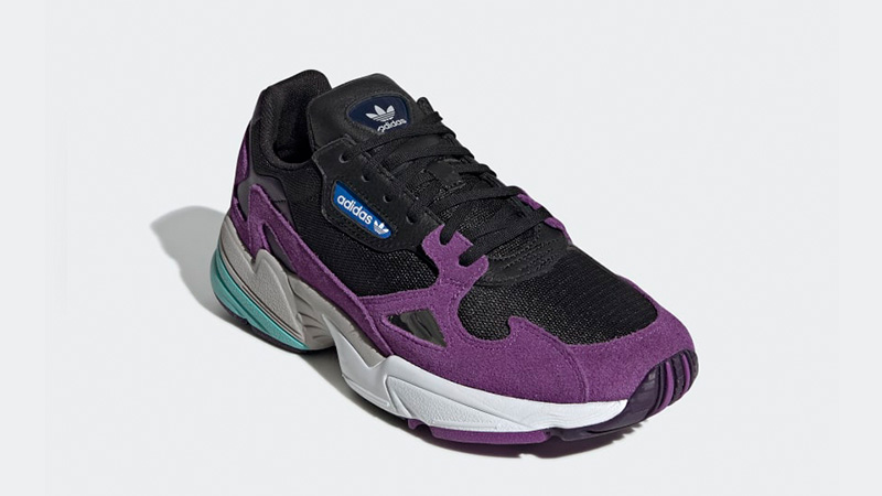 adidas Falcon Black Purple CG6216 03