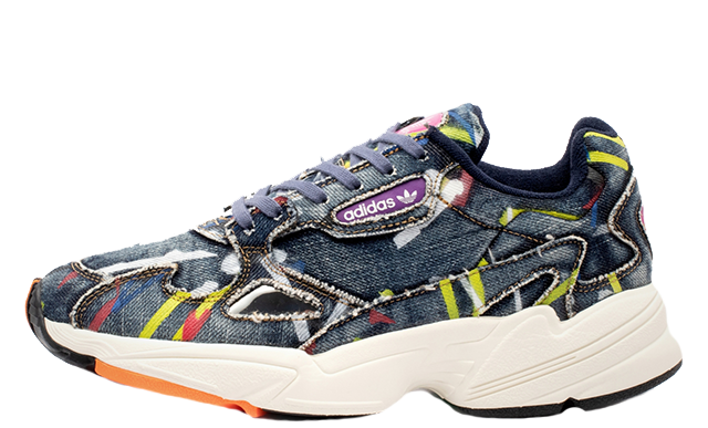 factory authentic 463c9 67438 adidas Falcon Jeans Multi Womens