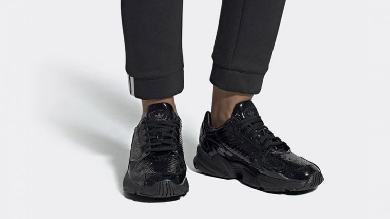 adidas Falcon Triple Black CG6248 04