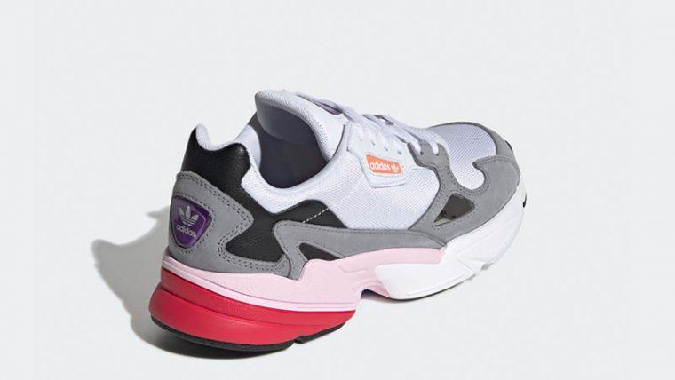 adidas Falcon White Grey CG6214 01