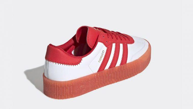 adidas Fiorucci Sambarose Red White G28913 01