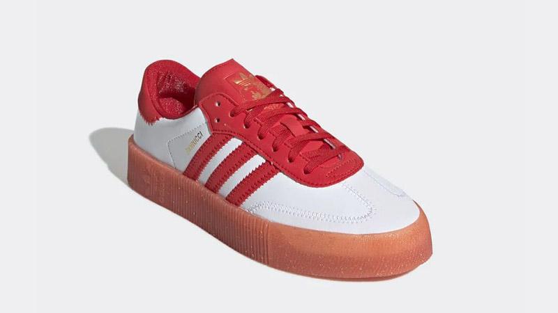 adidas Fiorucci Sambarose Red White G28913 03