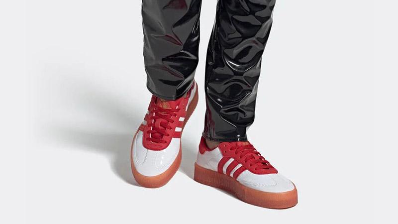 adidas Fiorucci Sambarose Red White G28913 04