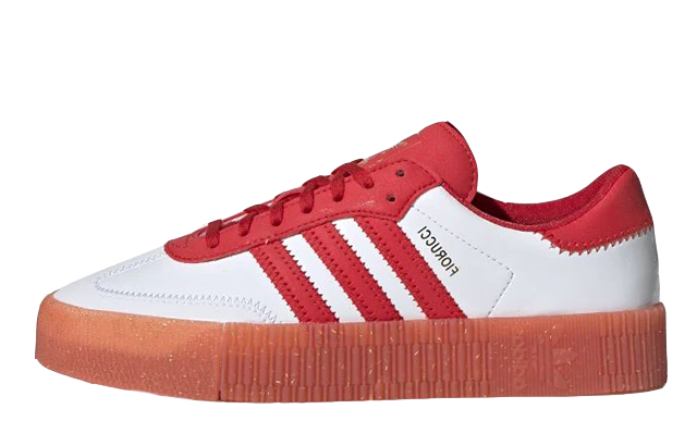 adidas Fiorucci Sambarose Red White G28913