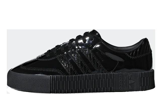 adidas Sambarose Triple Black CG6618
