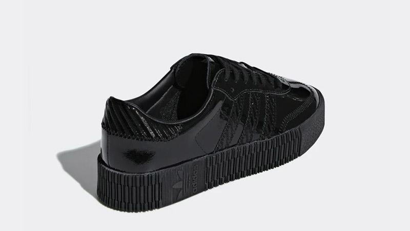 adidas Sambarose Triple Black | Where