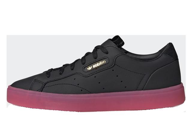 adidas Sleek Black Pink G27341