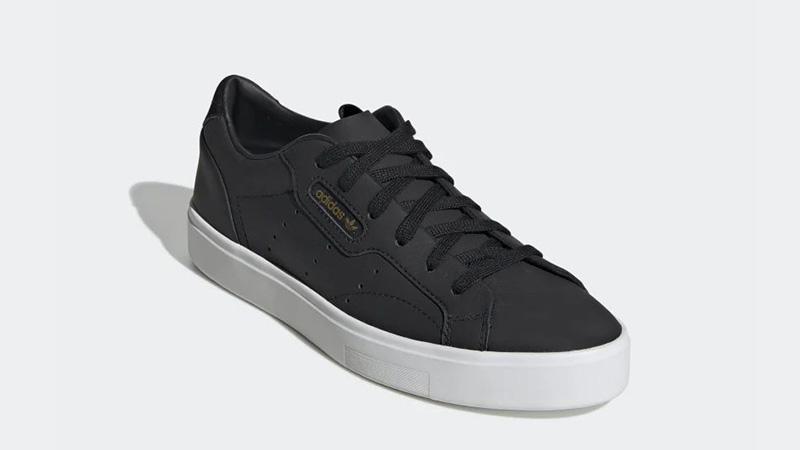 adidas Sleek Black White CG6193 03