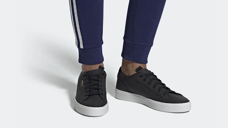 adidas Sleek Black White CG6193 05