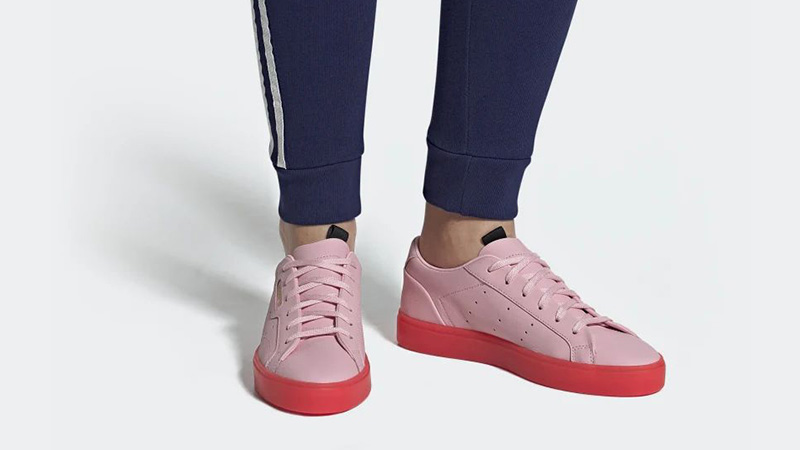 adidas Sleek Pink Red BD7475 05