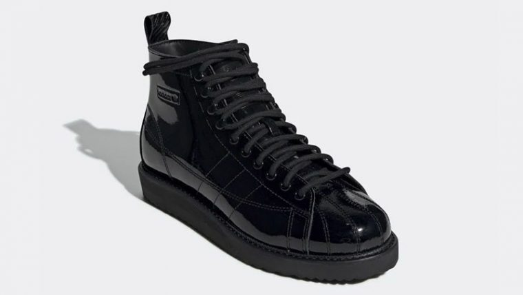 adidas Superstar Boots Triple Black CG6458 03 thumbnail image