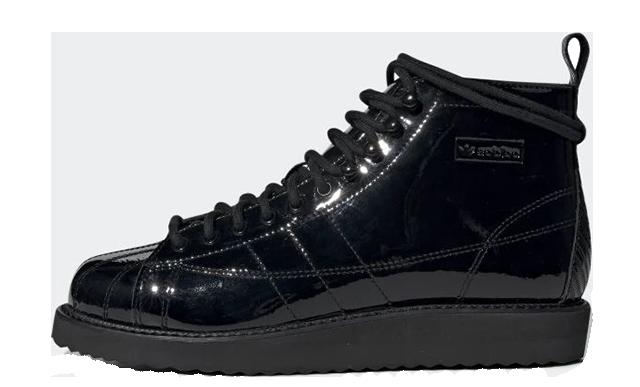adidas Superstar Boots Triple Black CG6458