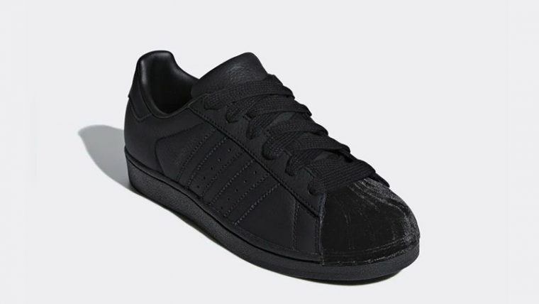 adidas Superstar Triple Black Womens CG6011 03