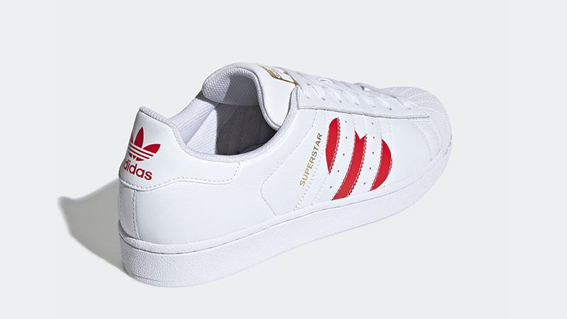 adidas Superstar Valentines Day Pack White Red EG3396 02