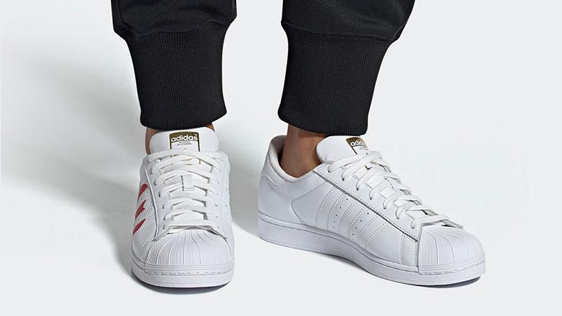 adidas Superstar Valentines Day Pack White Red EG3396 03