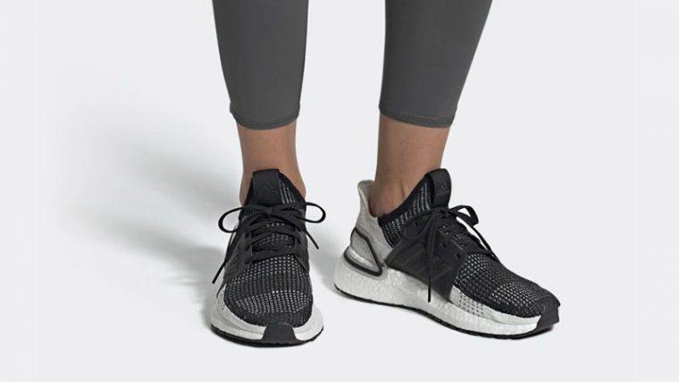 adidas Ultra Boost 19 Black Grey B75879 04 thumbnail image