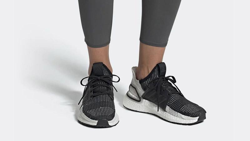 adidas Ultra Boost 19 Black Grey B75879 04