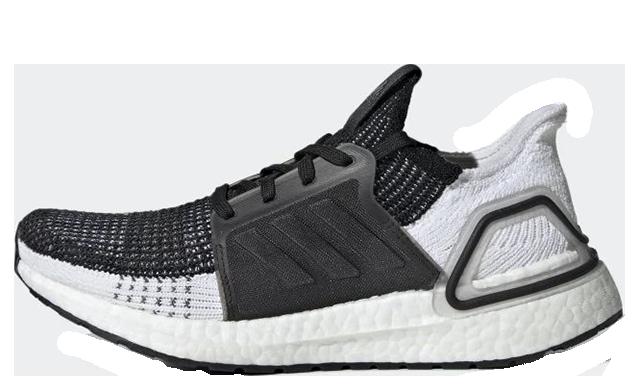 adidas Ultra Boost 19 Black Grey B75879