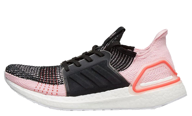 sports shoes 96383 fb686 adidas Ultra Boost 19 Black Pink | G26129