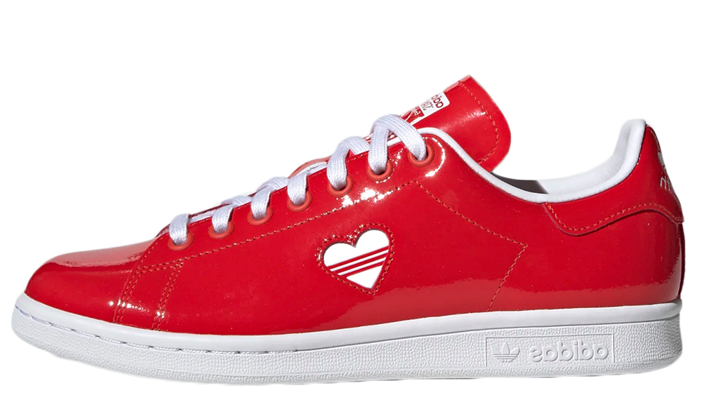 adidas superstar red valentines
