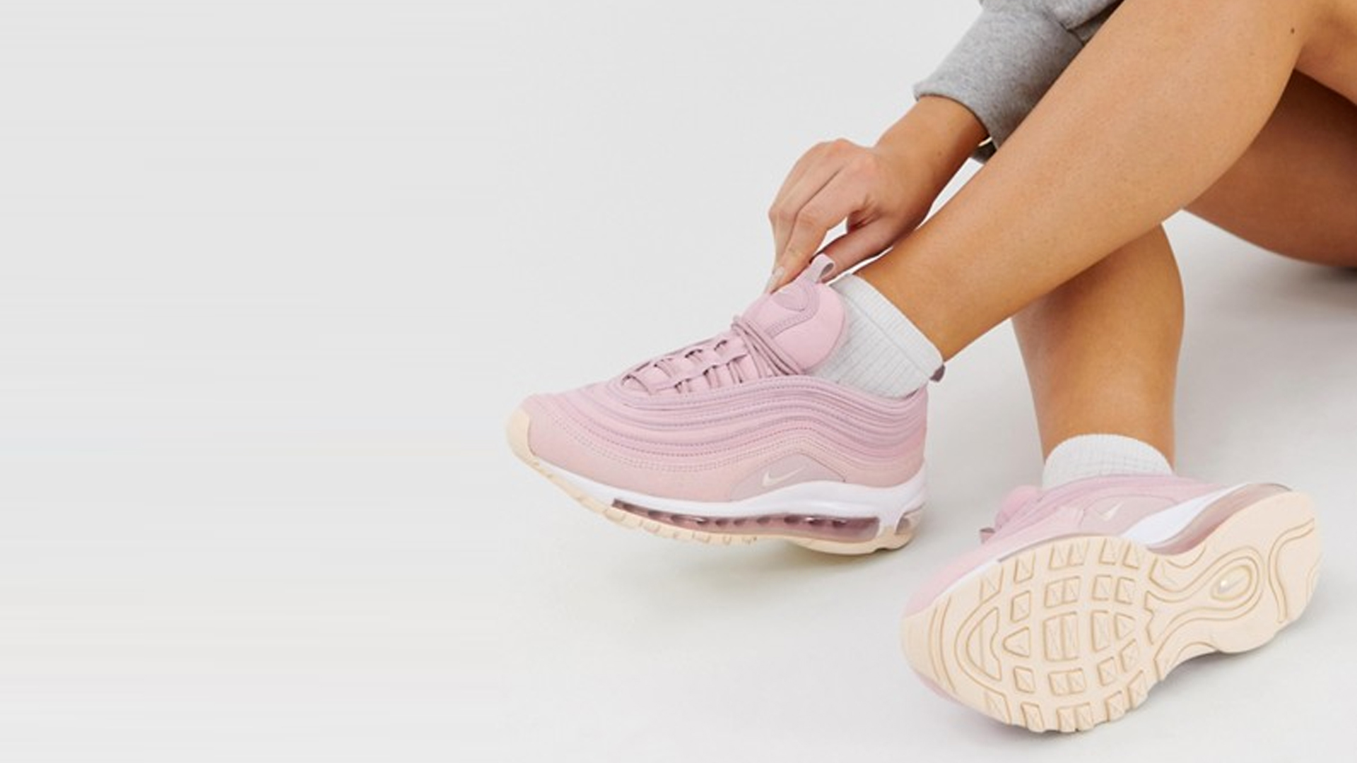 pretty nice 4e29c 93072 Nikes Pretty In Pink Air Max 97 Is Back With A Sweet Update