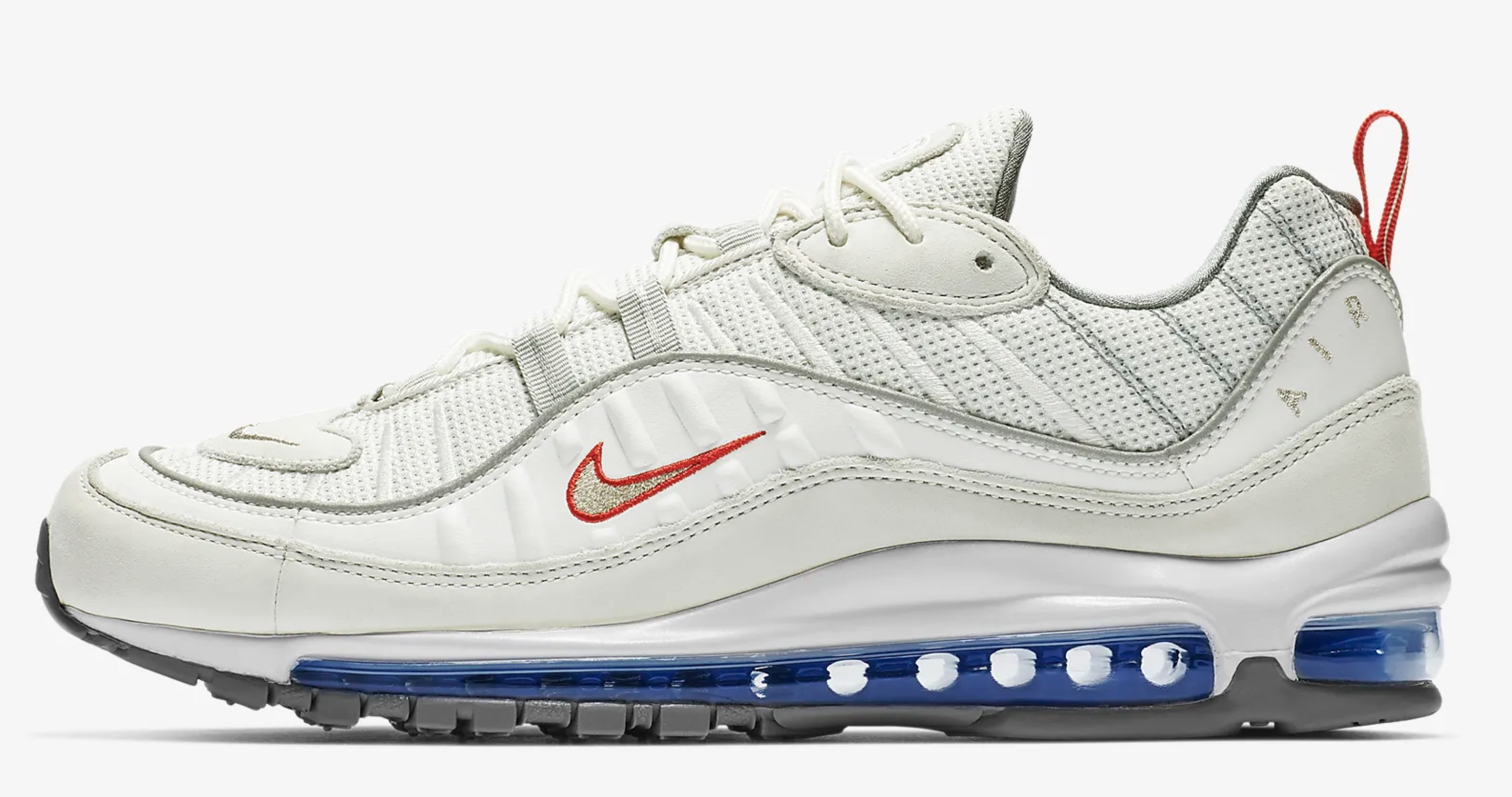 aec8a8286 Nike s Air Max 98 Goes  Summit White