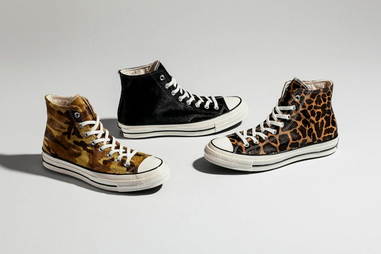 converse chuck 70 pony hair printed pack