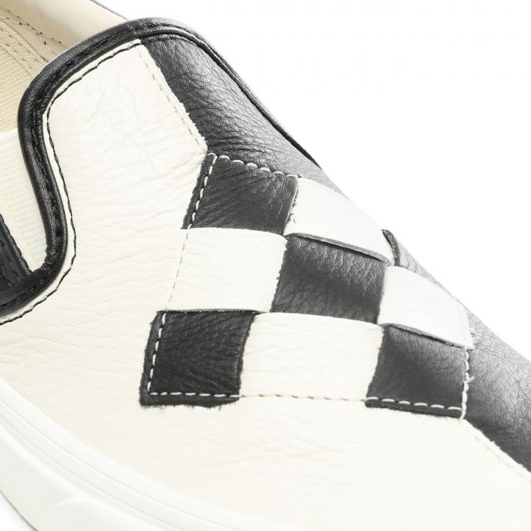 Vans Slip On Woven Leather