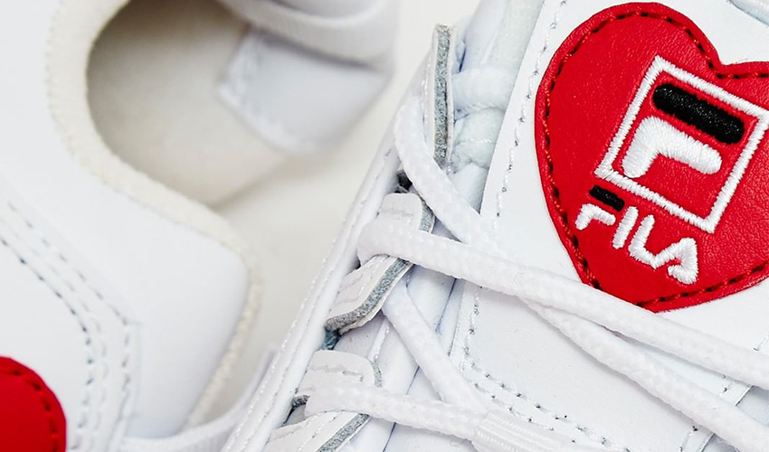 Love With FILA's Disruptor Heart