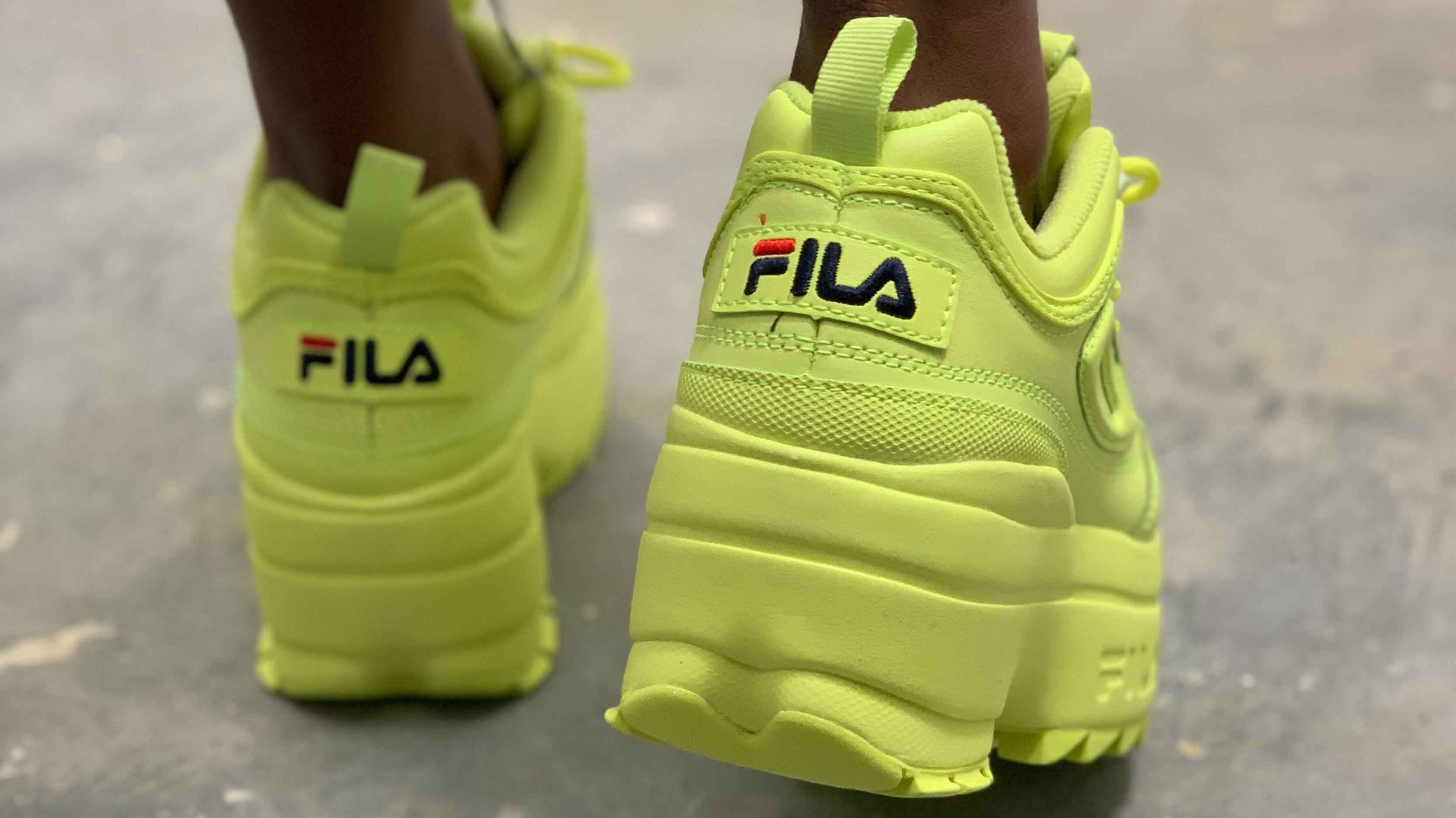 lime green platform sneakers cheap online