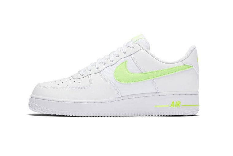 4baabb2517 Nike's Air Force 1 Is Updated With A Touch Of Neon | Upcoming ...