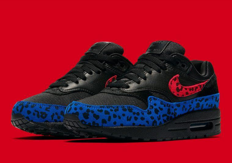 Nike's Air Max 1 Receives A Colourful Leopard Print Update