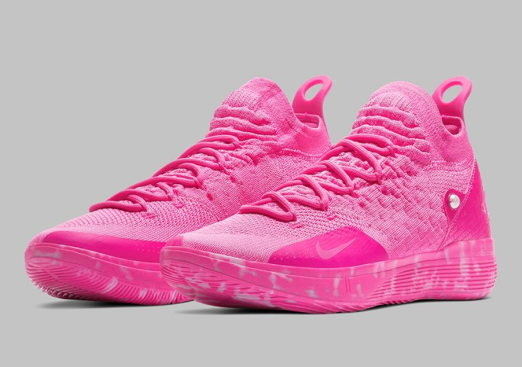 los angeles acfcb 9f092 Kevin Durant Pays Tribute To Cancer Survivors With The Nike ...