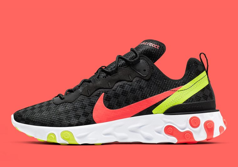 Checkered Patterns Switch Up Nike s React Element 55  18884006c