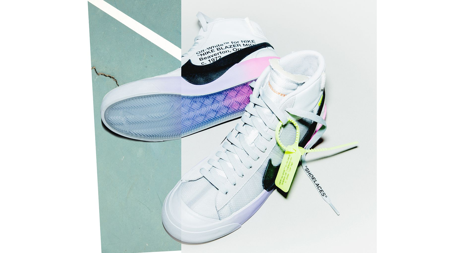 "68f7743402797 The Off-White x Serena Williams x Nike Blazer ""QUEEN"" Is Finally ..."