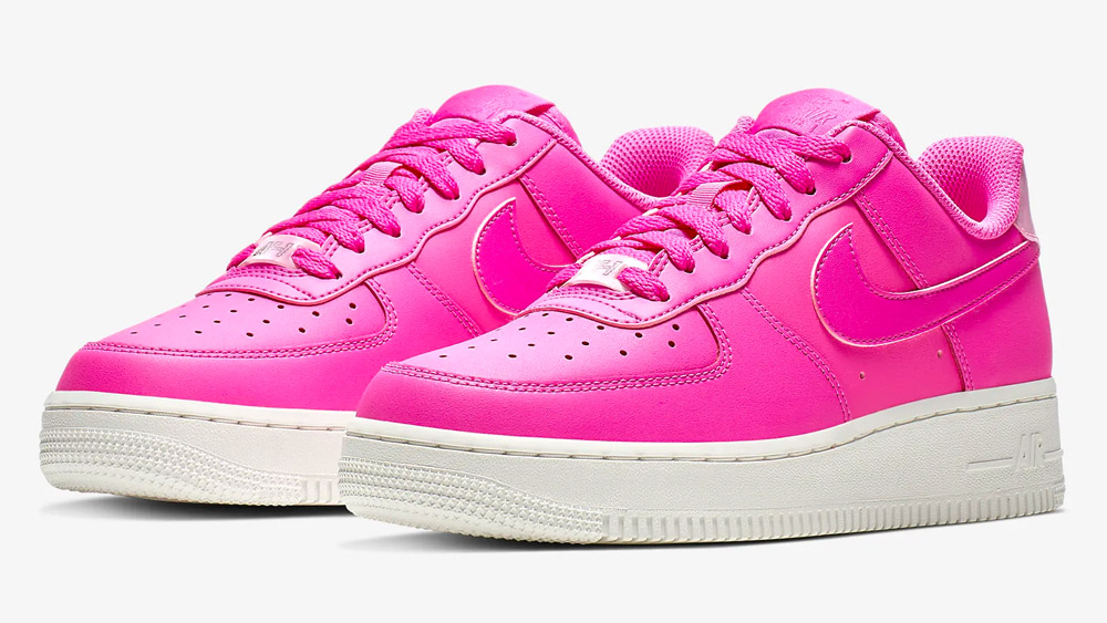 Nike Air Force 1 '07 Essential Hot Pink | AO2132 600 | The Sole Womens