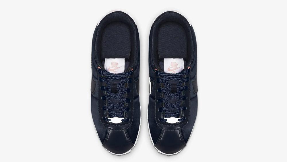 Nike Cortez GS Basic TXT VDAY Satin Blue   AV3519-400